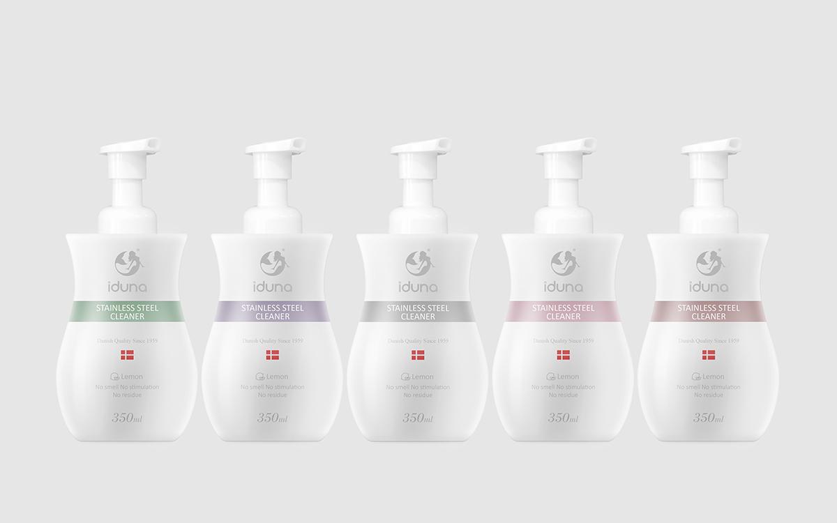 不锈钢清洗剂系列包装设计