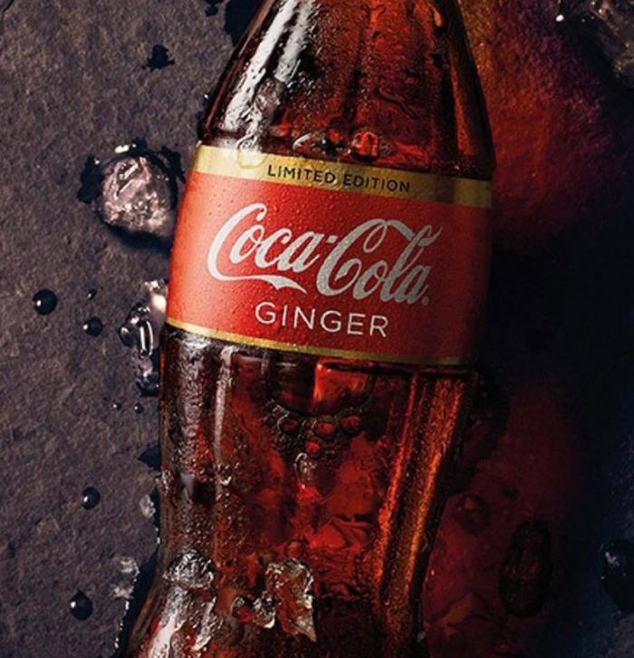 姜味可口可乐
