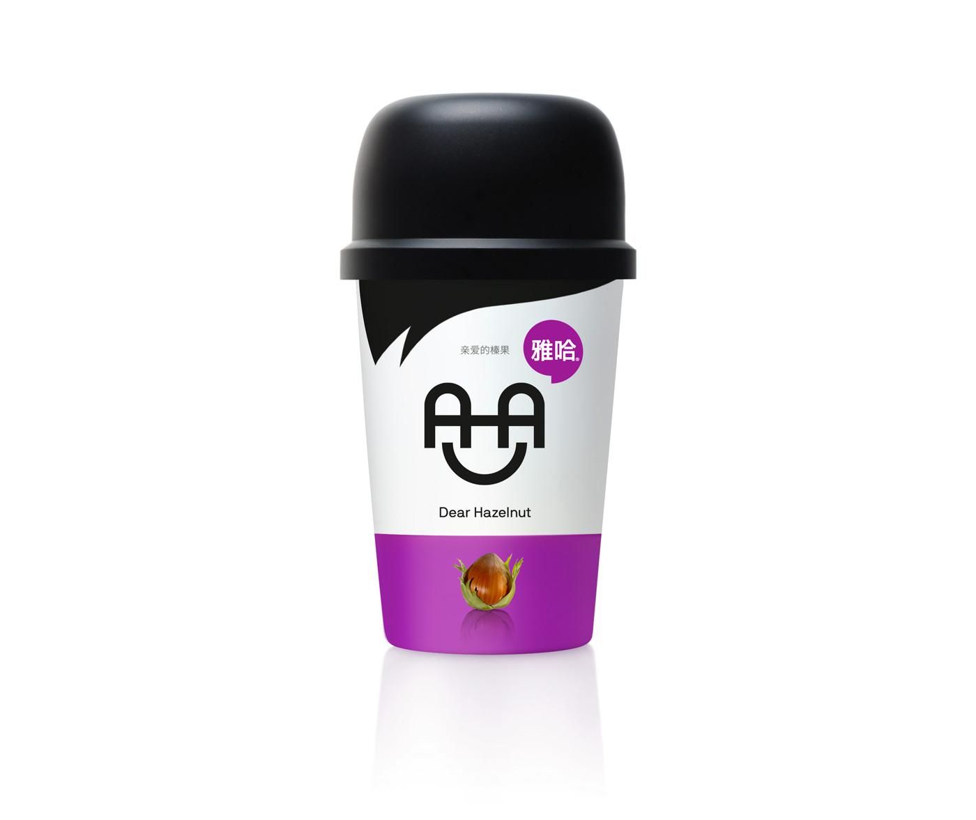 雅哈咖啡-亲爱的榛果包装