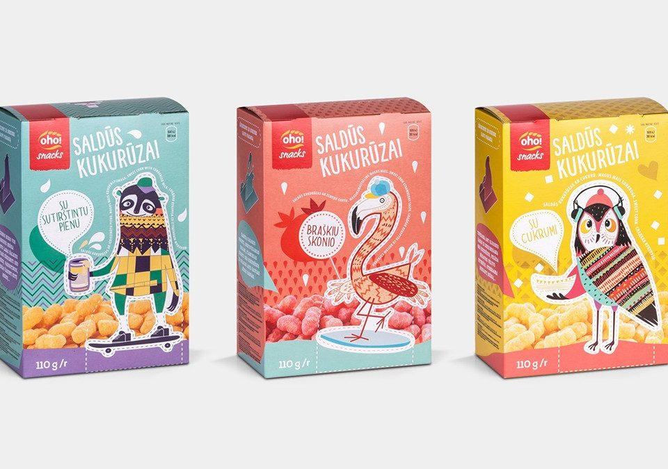 创意儿童零食包装