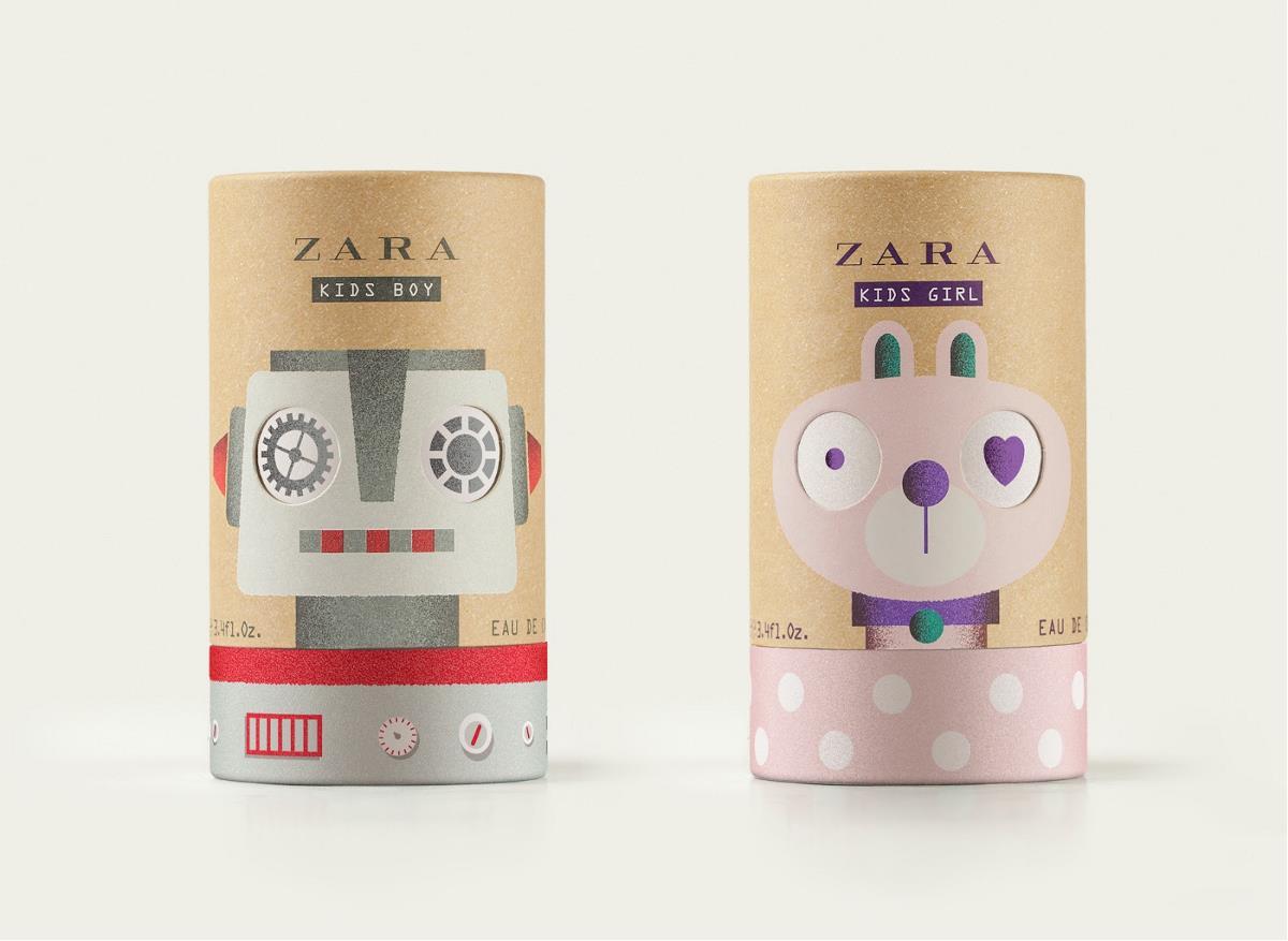 儿童香水包装设计