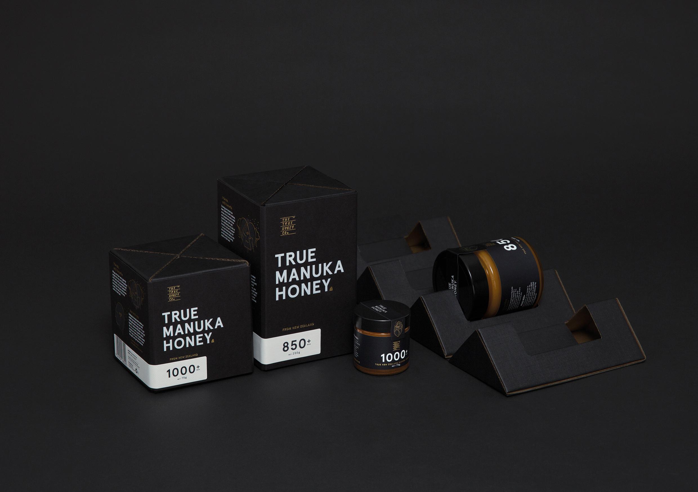 创意蜂蜜物流包装设计