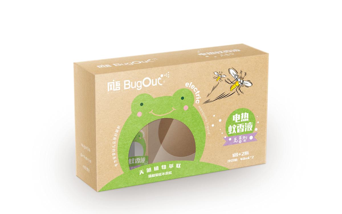 电热蚊香液包装设计